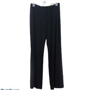 Cato black elastic waist dress pants